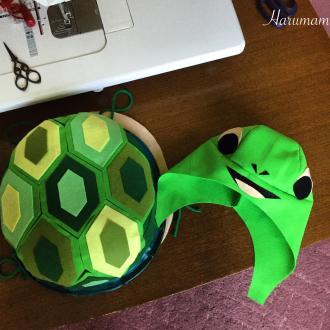 浦島太郎の亀を作ろうvol.3  そしてもう秋の気配