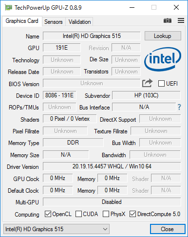 EliteBook Folio G1_GPU-Z_01
