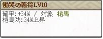 スキル慟哭Lv10