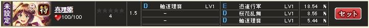 特 真理姫 テーブル3