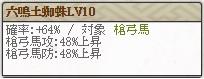 六鳴土蜘蛛Lv10