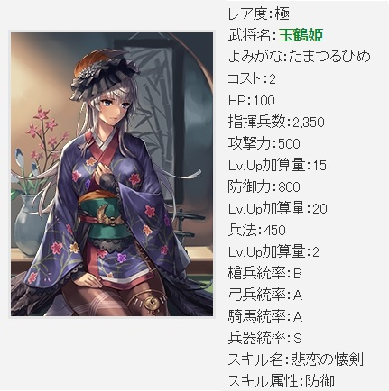 仮極 玉鶴姫