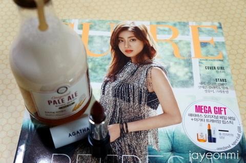 韓国女性誌_2016年8月号到着_blog (1)