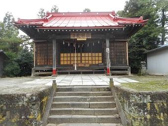 ②小谷のささら 神社