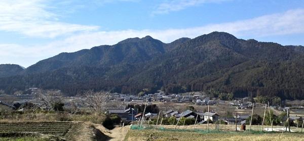 大原の山里風景