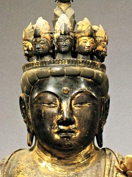 禅定寺・十一面観音像(長徳元年・995)
