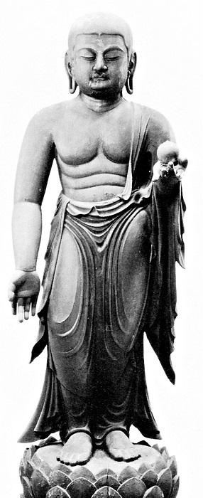 慰称寺・地蔵菩薩立像