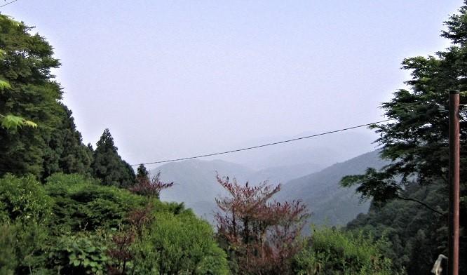 愛宕山・月輪寺から望む眺望