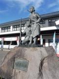 JR会津若松駅 白虎隊士の像