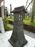JR会津若松駅 地下道前の行灯 南