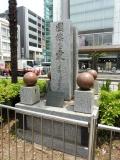 JR亀戸駅 「國旗を愛しましょう」