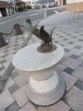 JR宇野駅 海鳥像