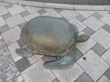 JR宇野駅 海亀像