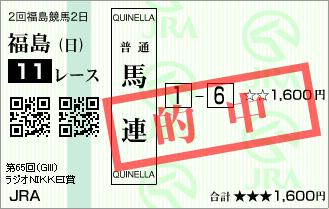 ラジオN賞_的中