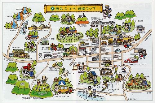 ウッディ絵地図 (2)