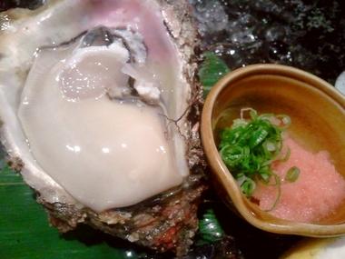 夏は 岩牡蠣だよねぇ♪