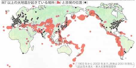 原発と地震