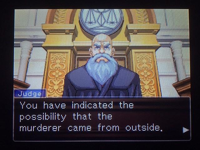 逆転裁判 北米版 真犯人その名はフォン・カルマ3