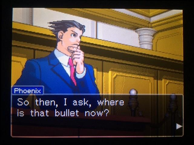 逆転裁判 北米版 ミッシングバレットの行方7