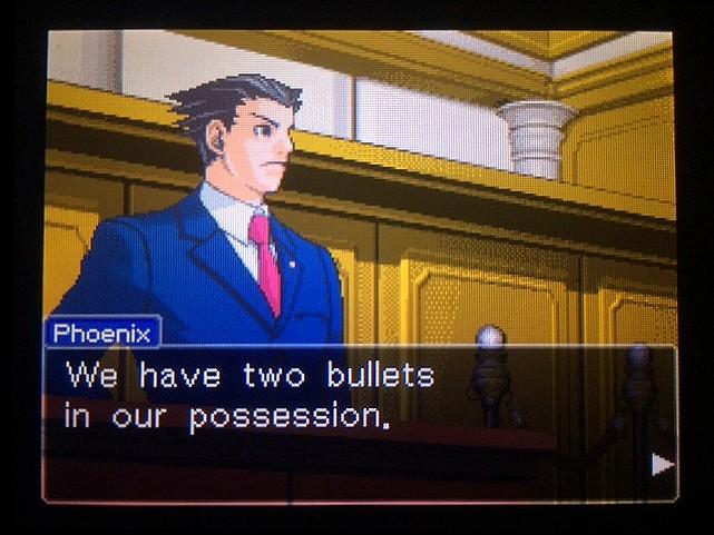 逆転裁判 北米版 銃弾の証明20