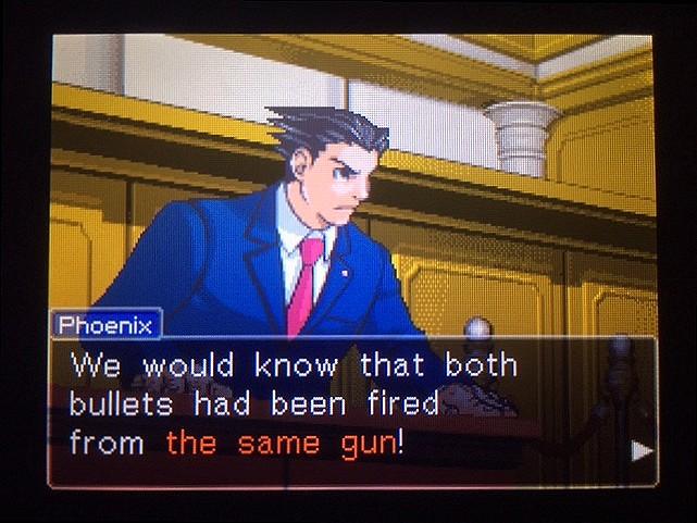 逆転裁判 北米版 銃弾の証明23