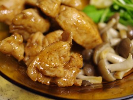 怪味チキンで鶏むね肉の炒め物辛味をまろやかに