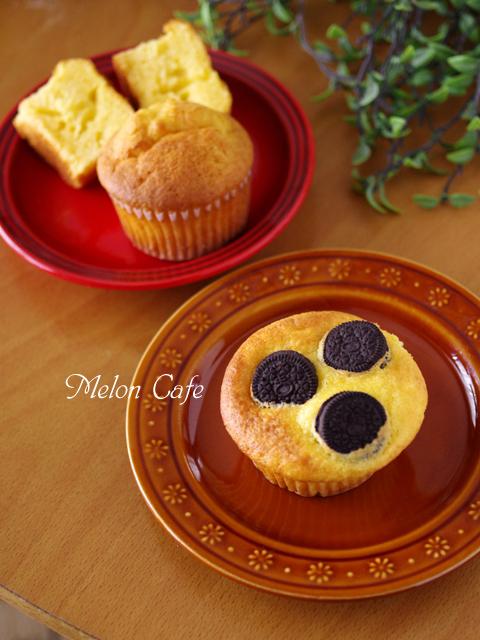 ホットケーキミックスで作るマスカルポーネチーズのカップケーキ