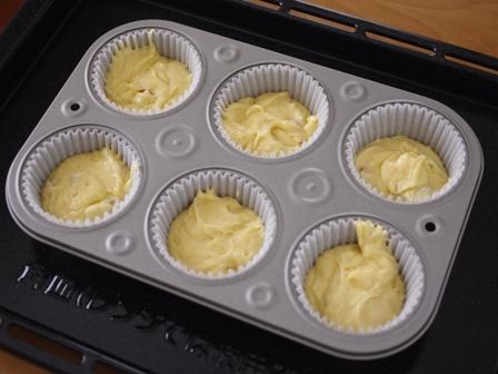 干あんずとバニラのフルブラでカップケーキ06