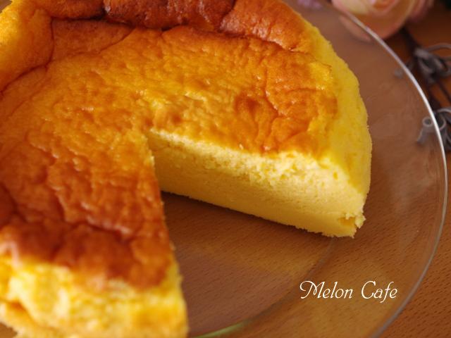 ホットケーキミックスで簡単スフレチーズケーキ00