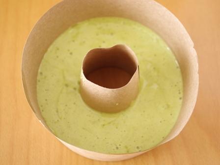 レンジで簡単ホットケーキミックスの抹茶シフォンケーキ白あんサンド03