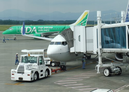 富士山静岡空港から沖縄へ