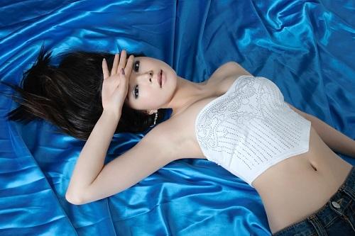 美しい韓国人女性