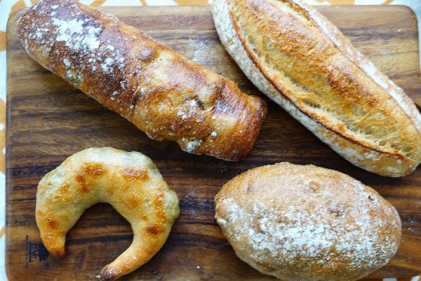 【生瀬ヒュッテ】4月のパン