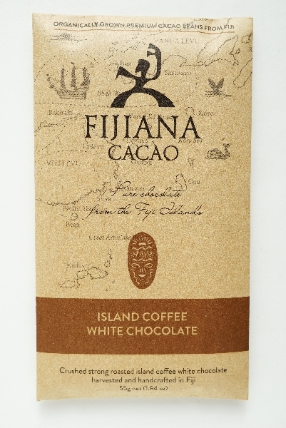【FIJIANA CACAO】ISLAND COFFEE WHITE CHOCOLATE