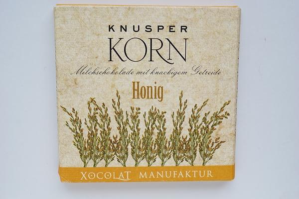 【XOCOLAT MANUFAKTUR】KNUSPER CORN Honig / Joghurt /Karamell