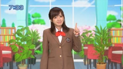 160414合格モーニング 紺野あさ美 (2)