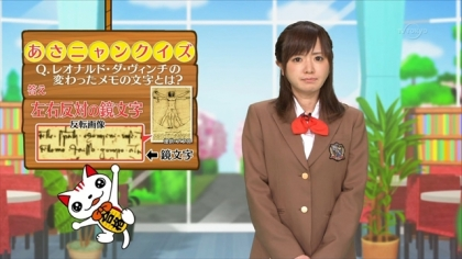 160415合格モーニング 紺野あさ美 (1)
