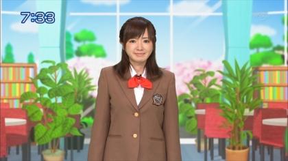 160426合格モーニング 紺野あさ美 (2)