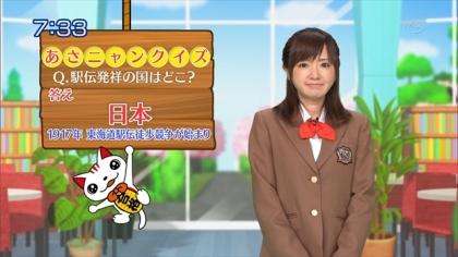 160427合格モーニング 紺野あさ美 (1)