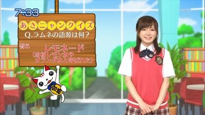 160504合格モーニング 紺野あさ美 (1)