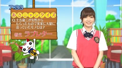 160531合格モーニング 紺野あさ美 (1)