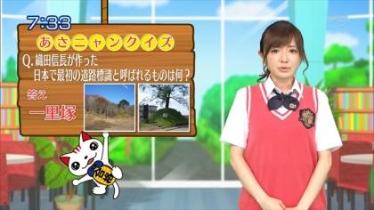 160623合格モーニング 紺野あさ美 (1)