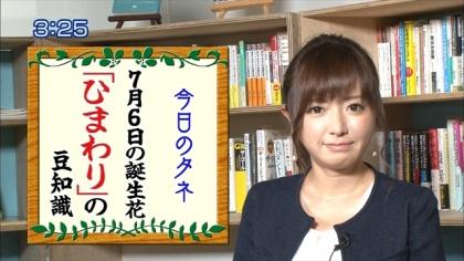 160706朝ダネ 紺野あさ美 (5)