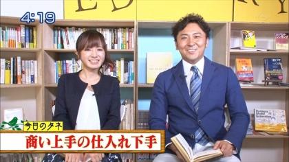 160817朝ダネ 紺野あさ美 (1)