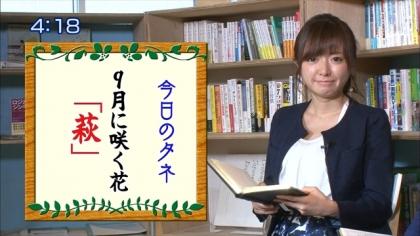 160914朝ダネ 紺野あさ美 (5)