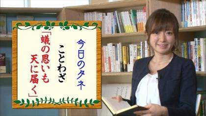 160925朝ダネ 紺野あさ美 (4)
