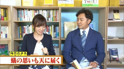 160925朝ダネ 紺野あさ美 (3)