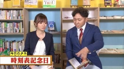 161005朝ダネ 時刻表記念日 紺野あさ美 (1)