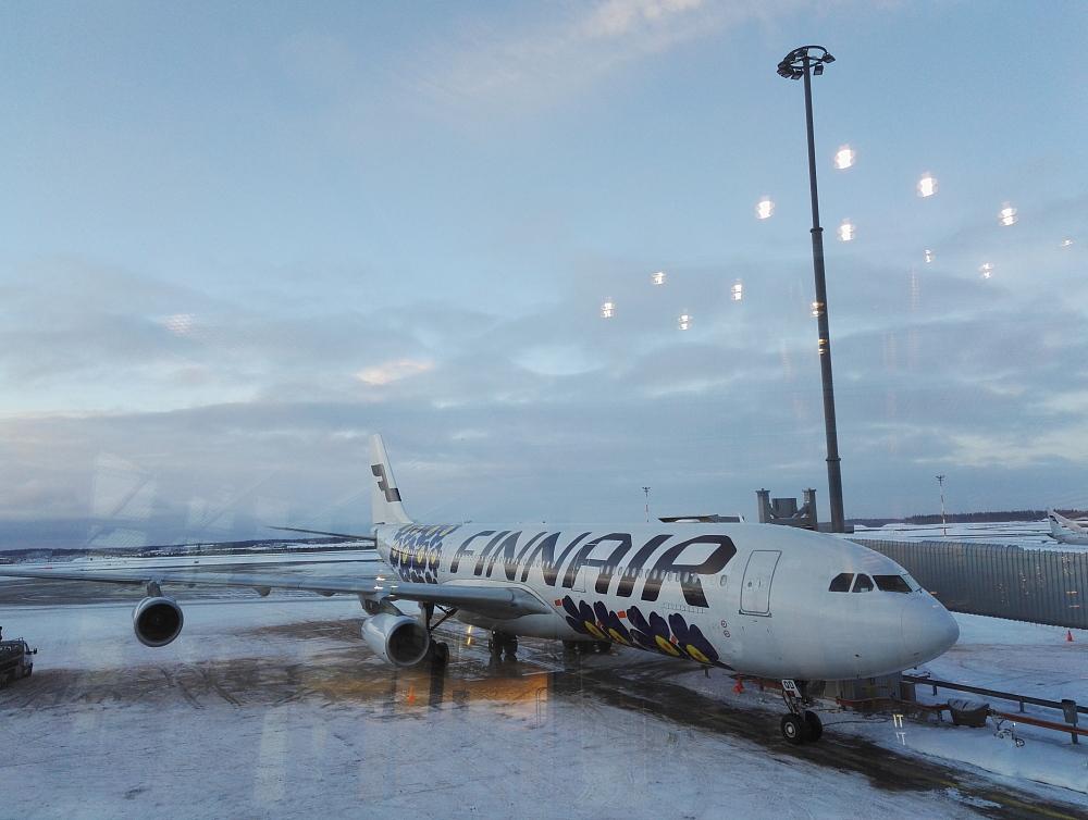 Nagoya Helsinki Finnair 名古屋 ヘルシン-ヴァンター空港 フィンエアー マリメッコ