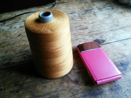 セルビッジ用縫い糸